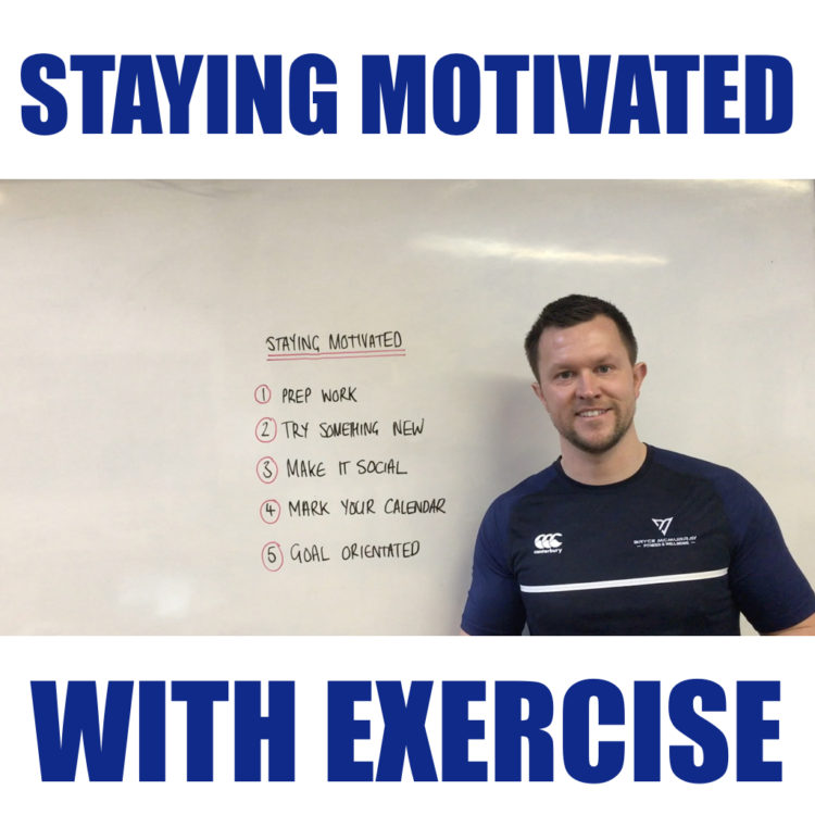 Staying Motivated With Exercise